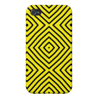 Vivid Colored Stripy Iphone Case Covers For iPhone 4