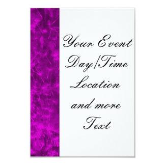 Vivid Colours,purple pink 9 Cm X 13 Cm Invitation Card