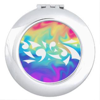 Vivid Delights (Circle Compact) Compact Mirror