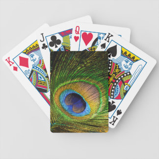 Vivid Feather Bicycle Playing Cards