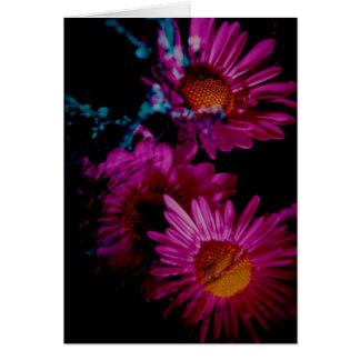 Vivid Floral Photo Greeting Card