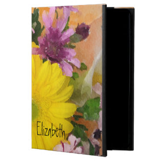 Vivid Floral Watercolor Custom Powis iPad Air 2 Case