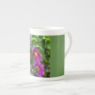 Vivid Flowers Tea Cup