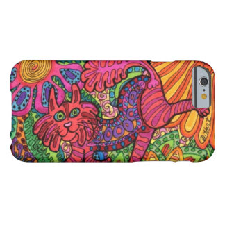 Vivid Garden Cat Barely There iPhone 6 Case