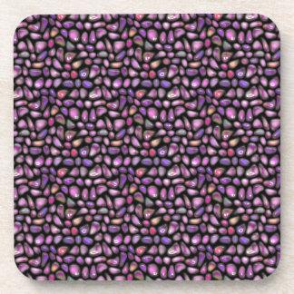 Vivid Gemstones Coaster
