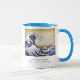 Vivid Great Wave by Hokusai
