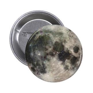 Vivid Image of the Moon 6 Cm Round Badge