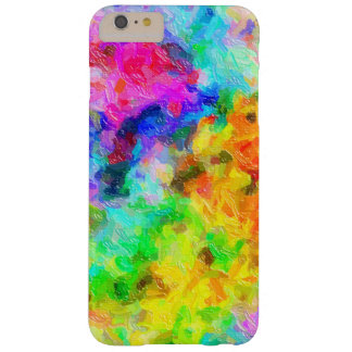 Vivid Impasto Paintbrush Colors Barely There iPhone 6 Plus Case