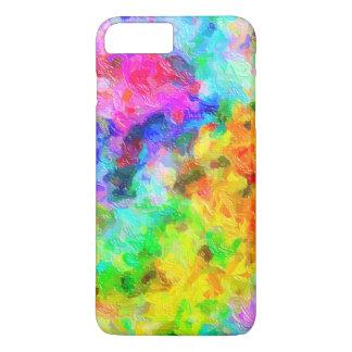 Vivid Impasto Paintbrush Colors iPhone 7 Plus Case