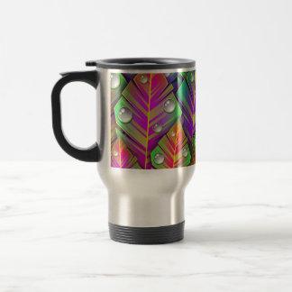 Vivid Leaves Travel Mug