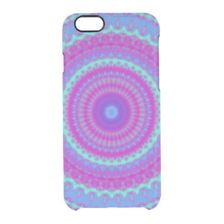 Vivid Mandala Clear iPhone 6/6S Case