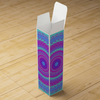 Vivid Mandala Wine Box