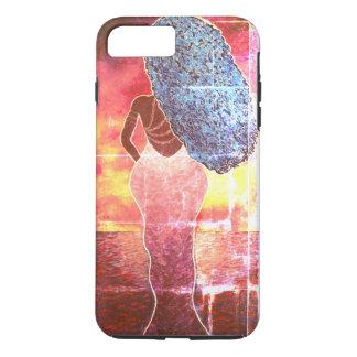 Vivid Ocean Sunset iPhone7 Plus Tough Phone Case