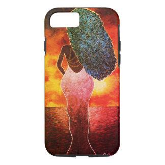 Vivid Ocean Sunset iPhone7 Tough Phone Case