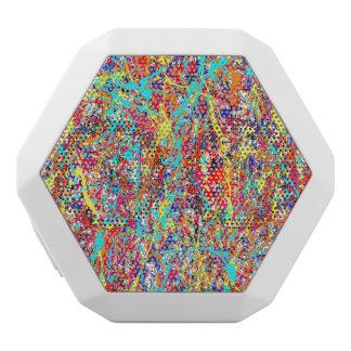 Vivid Paint Splatter Abstract