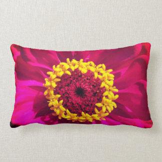 Vivid Pink and Red Lumbar Cushion