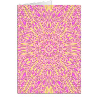 Vivid Pink Greeting Card