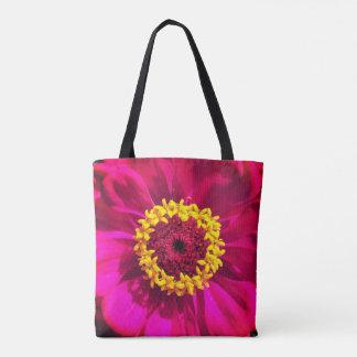 Vivid Red Flowers Tote Bag