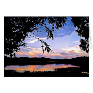 Vivid Reflections Card