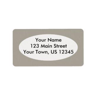 Vivid Smoke Address Label