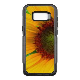 Vivid sunflower OtterBox commuter samsung galaxy s8+ case