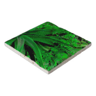 Vivid Tropical Design Trivet