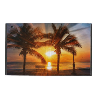 Vivid Tropical Sunset iPad Cover