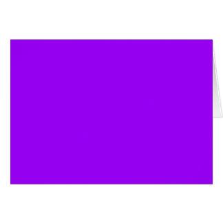 VIVID VIOLET (solid color) ~ Greeting Card