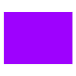 VIVID VIOLET (solid color) ~ Postcard