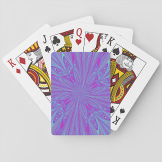 Vivid Vortex Playing Cards