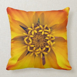 Vivid Yellow Flower Cushion