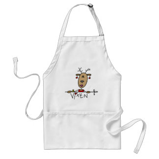 Vixen Reindeer Tshirts and Gifts Standard Apron
