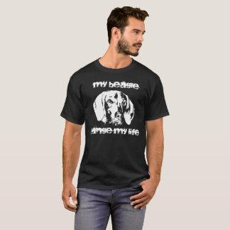 Vizsla, Beagle, friendship with dog T-Shirt