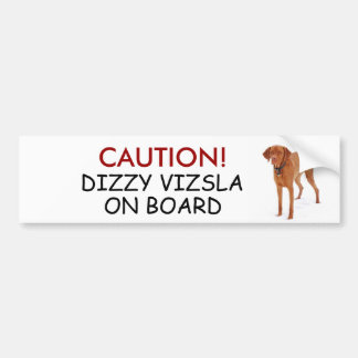 VIZSLA - bumper sticker