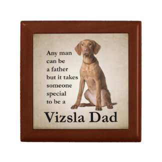 Vizsla Dad Keepsake Box