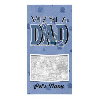 Vizsla DAD Picture Card