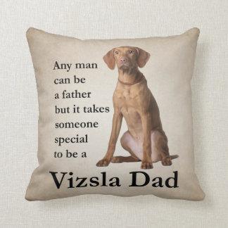 Vizsla Dad Pillow