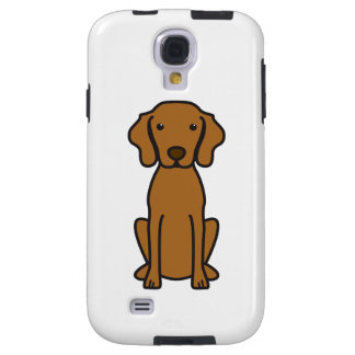 Vizsla Dog Cartoon Galaxy S4 Case