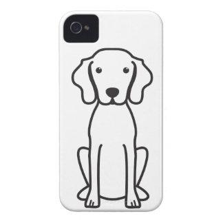 Vizsla Dog Cartoon iPhone 4 Case-Mate Case