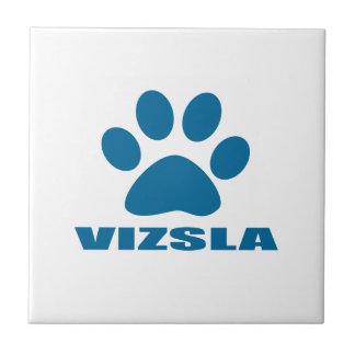 VIZSLA DOG DESIGNS CERAMIC TILE