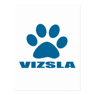 VIZSLA DOG DESIGNS POSTCARD