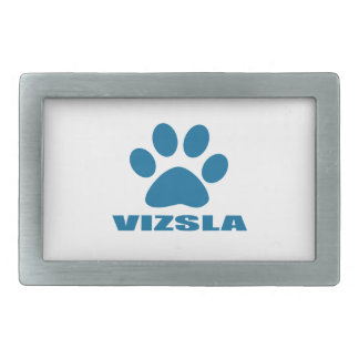 VIZSLA DOG DESIGNS RECTANGULAR BELT BUCKLES