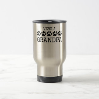 Vizsla Grandpa Travel Mug