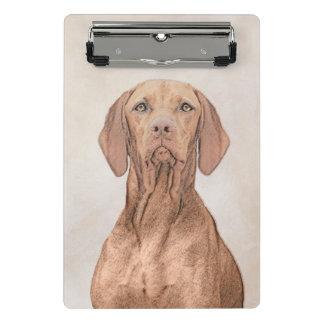 Vizsla Painting - Cute Original Dog Art Mini Clipboard