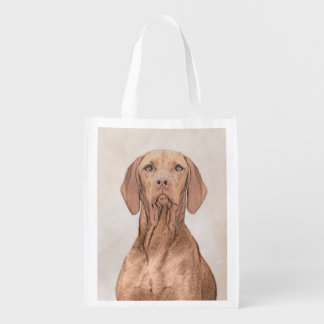 Vizsla Reusable Grocery Bag