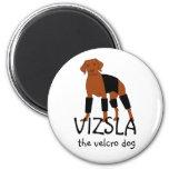 Vizsla The Velcro Dog magnet