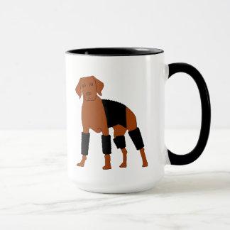 Vizsla The Velcro Dog mug