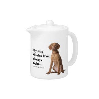 Vizsla v Wife Teapot