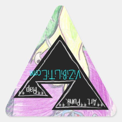 Vizzie Inc. sticker - **Art**Punk**Rap**
