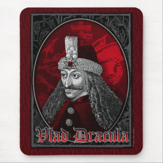 Vlad Dracula Gothic Mouse Pad